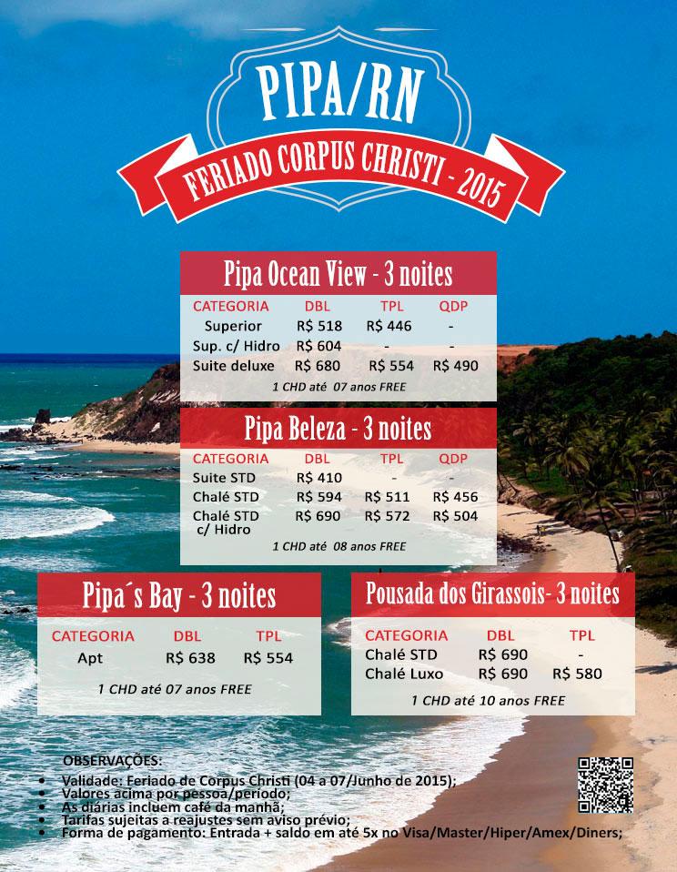 WRT Operadora de Turismo - Natal/RN, pacotes nacionais